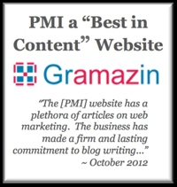 Content marketing award, inbound marketing, PA marketing and web design firms